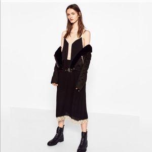 Zara black size small dress